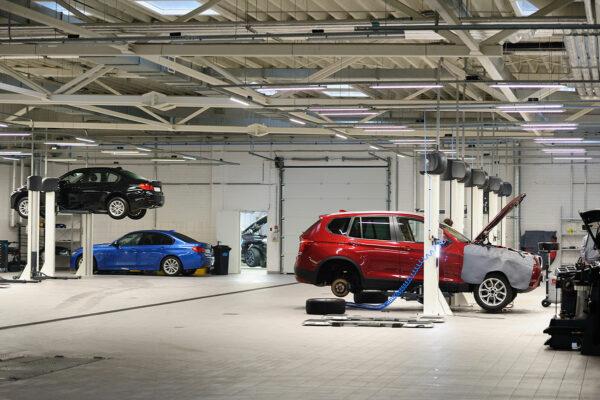 Olieafscheider-garage