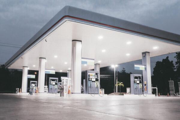 Olieafscheider-tankstation